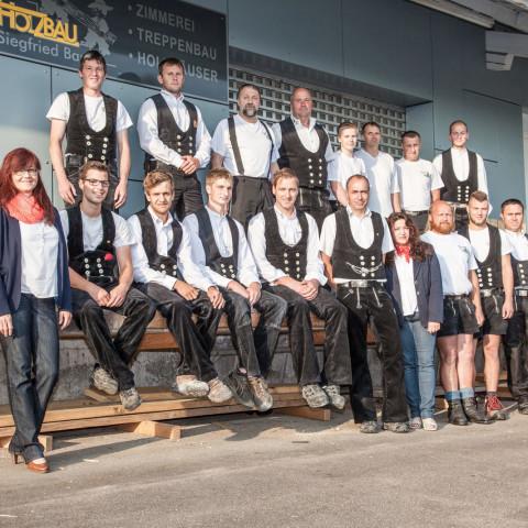 Holzbau Bauer Team