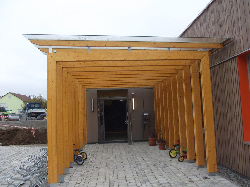 Uberdachungen Holzbau Bauer