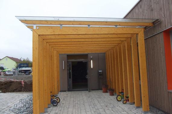 Überdachungen von Holzbau Bauer in Obersontheim